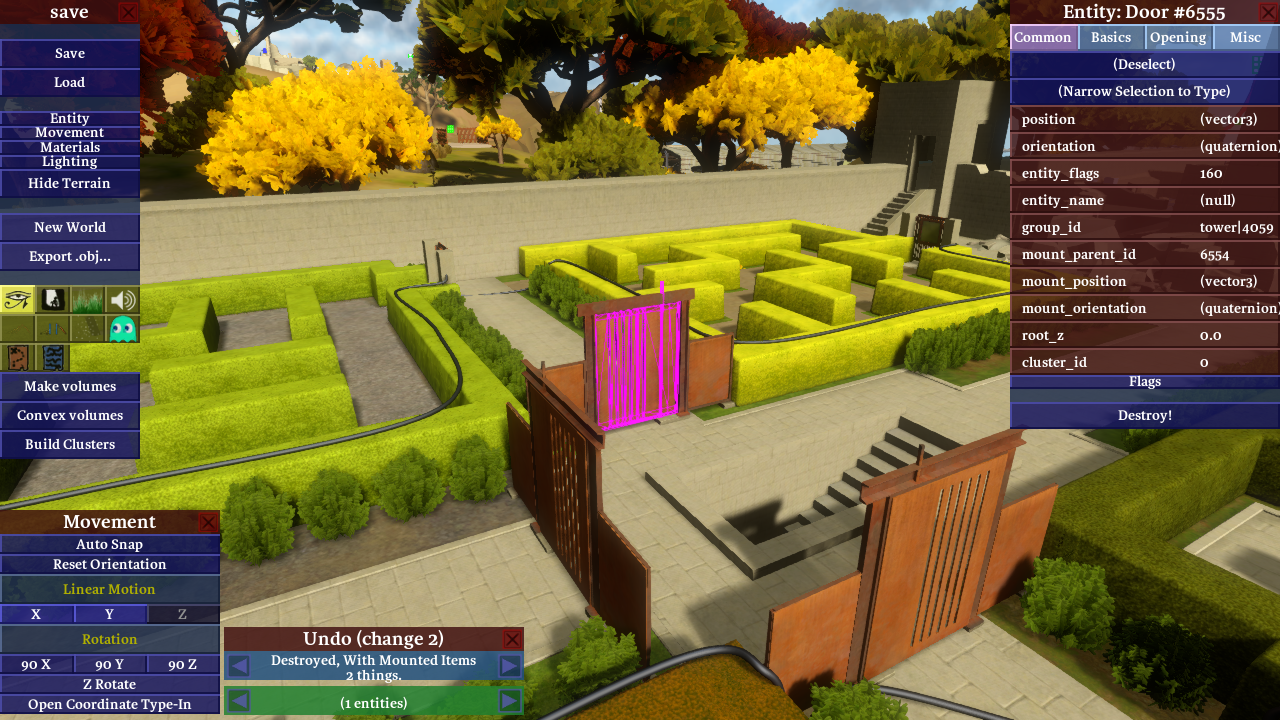 Engine Tech: Concurrent world editing – The Witness