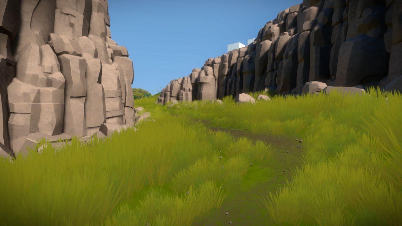 Desert Island Rocks The Witness